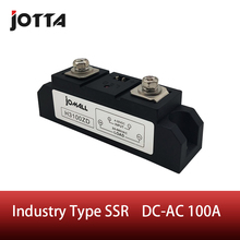 цена на SSR-100A Industrial SSR Single-phase Solid State Relay 100A Input 3-32VDC;Output 440AC