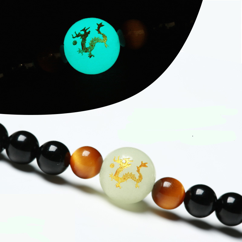 Onyx and Tiger's Eye Mala 4
