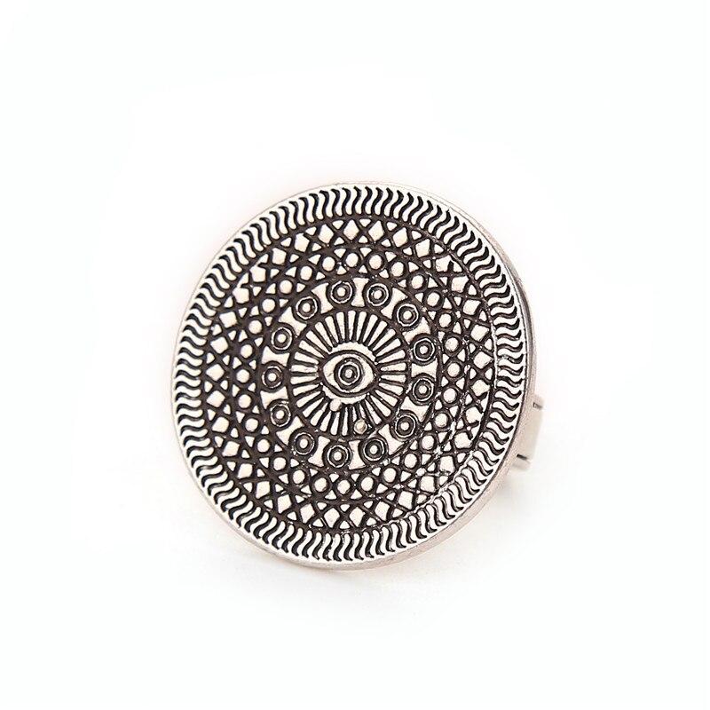 Guardian Ring Talisman Nazar Vintage Ethnic Bohemian BOHO Ring Simple Personality Punk Ring anillo bague Women Jewelry Wholesale
