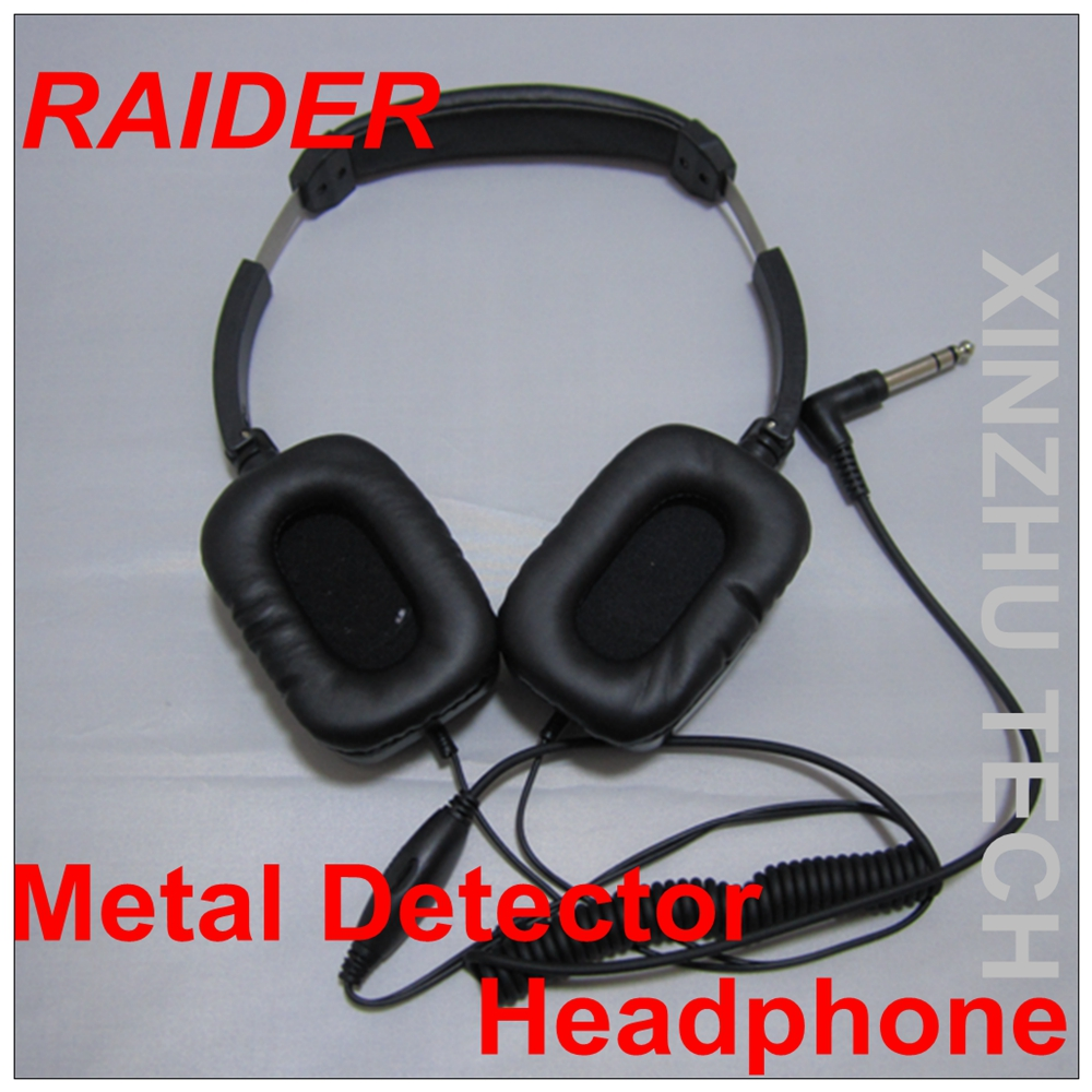 TIANXUN For <font><b>MD6350</b></font> MD6250 MD6150 IDER Metal Detector Headphone Gold Earphone image
