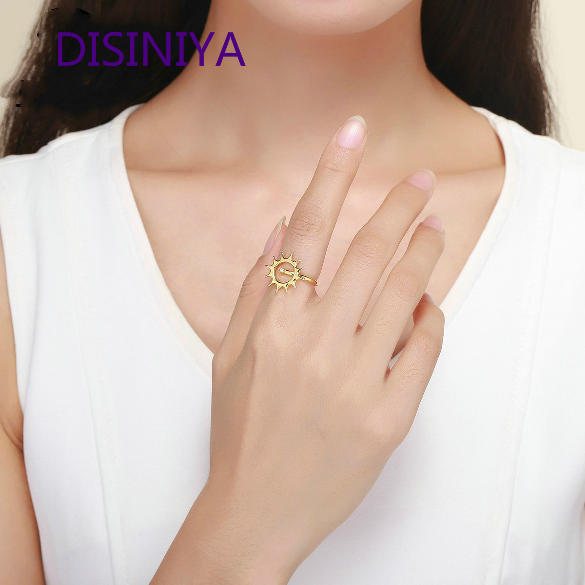 DISINIYA Geometric Jewelry Set Geometric Earrings Double Layers Necklaces Jewelry Sets for Women Fashion Jewelry Making WE171 in Jewelry Sets from Jewelry Accessories