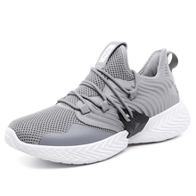 New Arrival Spring Summer Comfortable Casual Shoes Mens Canvas Shoes For Men Lace-Up Brand Fashion Flat Loafers Shoe Mesh 9JG59