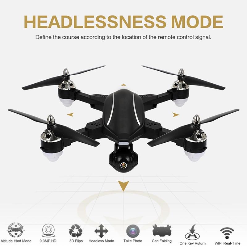 Phoota RC Drone Intelligent FPV GPS Auto-Follow 720P Digital HD Camera WiFi Real-Time G-Sensor Live Surround Fly Quadcopter Toy intelligent sensor aircraft toy