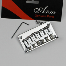 100% electric guitar silver fixed bridge electric guitar tailpiece SUNG-IL processing BN006