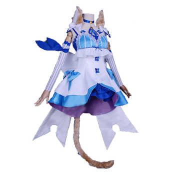 Re:Life in a Different World from Zero Re:Zero Felix Argyle Cosplay Costum costume with socks and ears and tail - DISCOUNT ITEM  0% OFF All Category
