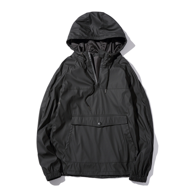 New Fashion Autumn Men's PU Leather Hoodies Men Jacket Tracksuits High-quality Winter Men Slim Fit Front Pockets Men Sweatshirt