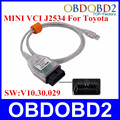 Топ Realter V10.30.029 МИНИ VCI Диагностический Интерфейс OBD Стандарт Связи МИНИ-VCI J2534 TIS Techstream 3 года Гарантии