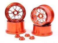 2015 Baja 5B металла с ЧПУ колесо с новой cnc печать колодки для Baja 5B SS HPI km Rovan Бесплатная доставка
