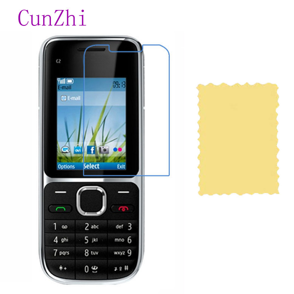 cunzhi 3 PCS Ultra Slim HD Film For Nokia C2 01 C2-01 Special LCD Screen Protector