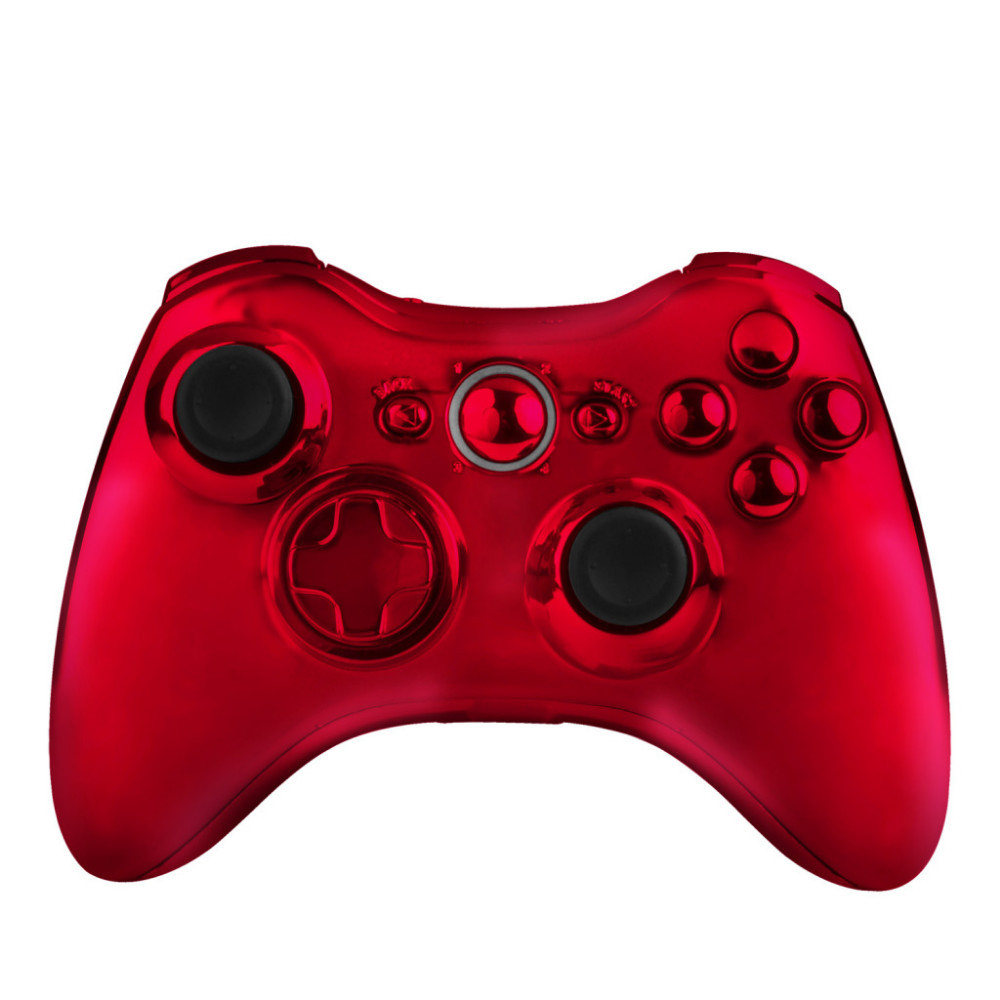 Red Full Controller Shell Case Housing for Microsoft Xbox 360 Wireless Controller