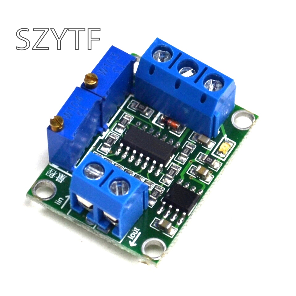 Electricity Conversion Voltage Signal Conditioning Module Turn 4 ~ 20 Ma, 0 ~ 10 V To 15 V Transmitter 5 V To 3.3 V