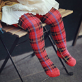 Winter Autumn Toddler Kids Baby Girl Warm Stockings Pants Hosiery Pantyhose Cotton Knitted Lattice Long Leggings