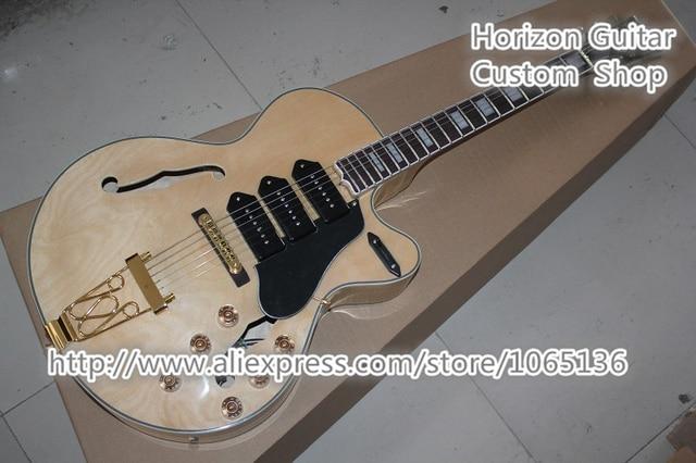Custom Shop Jazz Electric Guitar L5 Hollow Body Electrica Guitarra