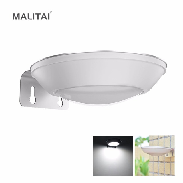 MALITAI LED Solar licht Radar Sensor Motion Activated Muur lampen ...