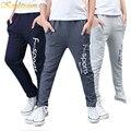 Kindstraum 2017 nuevo algodón de los muchachos pantalones de los deportes de los niños de calidad superior de impresión ocasional de moda los pantalones rectos cintura elástica desgaste, mc121