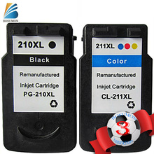 For Canon PG 210 CL 211 PG210 CL211 Ink Cartridge Pixma IP2700 IP2702 MP230 MP235 MP240 MP250 MP 252 260