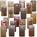 Healty verdadera madera de bambú de madera multi-patrón de la cubierta case fundas coque neo de la piel para samsung galaxy s7 s6 edge s5/nota 7/4/3s4 MINI