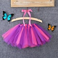 0-8Y Girls Kids Baby Tutu Party Ballet Dance Wear Skirt Pettiskirt Costume