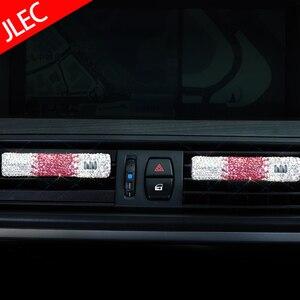 Image 5 - 1 pièces livraison directe voiture parfum voiture désodorisant diamant Auto climatiseur évent Clip Type bricolage ornement intérieur accessoires
