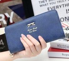 Famosos Diseñadores de la Marca Mujeres bolsas Larga monedero hombres monedero del embrague bolsa de Titular de la Tarjeta Monedero Bolso carteras de marcas de lujo de Color Rosa