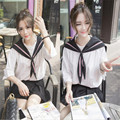 Студенты костюм Г-Жа юбка в складку шолль японский школьная форма равномерное корейский школьная форма uniforme japones долли юбка школьная форма для девочек школьная одежда футболки