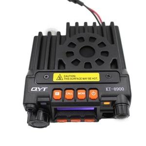 Image 4 - QYT KT8900 25W Mini Radio UV Transceiver DTMF Mobile Radio kt 8900 Dual band 136 174&400 480MHz Walkie Talkie