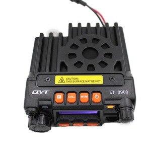 Image 4 - Qyt kt8900 25w mini rádio transceptor uv dtmf rádio móvel kt 8900 banda dupla 136 174 & 400 480mhz walkie talkie