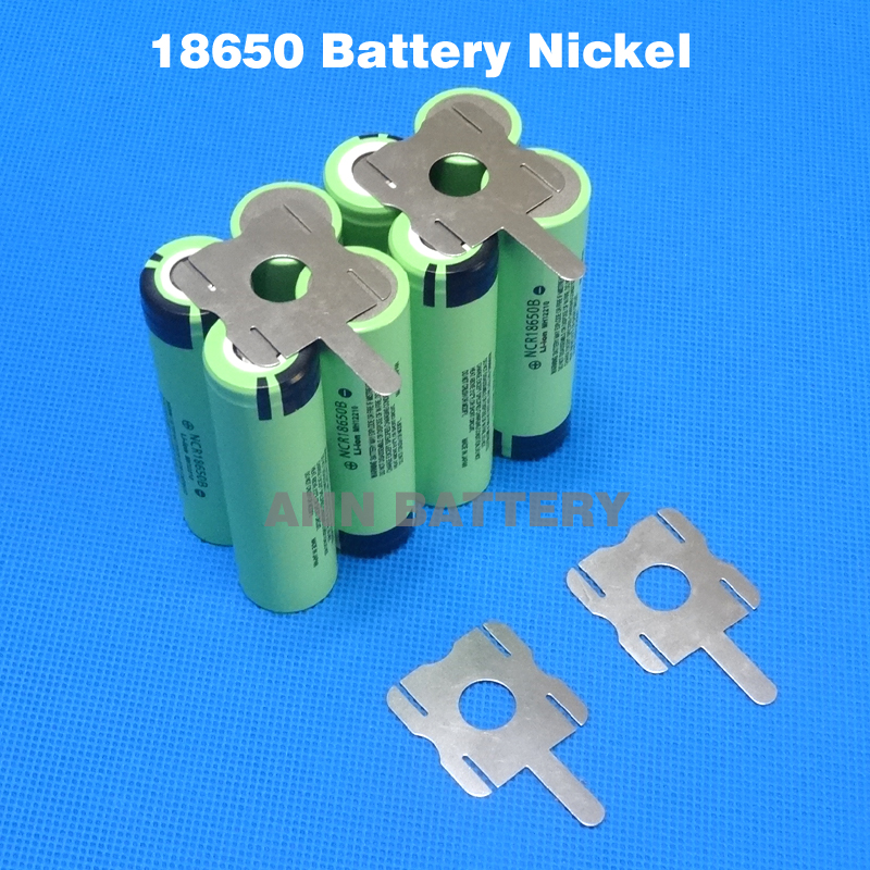 18650 Battery Nickel Plated Belt Cylindrical Cells Ni
