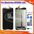 Para blackview bv5000 pantalla lcd y pantalla táctil digitalizador lcd asamblea para blackview bv5000