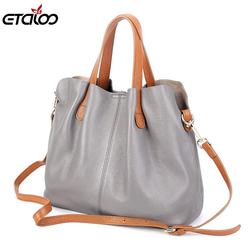 Для женщин вообще кожа сумки прилив Европа мода сумка из воловьей кожи Для женщин сумка ручной диагональ крест пакет