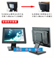 Computer LCD Monitor Desktop Stand Mount Brackets for Universal 10~27 inch Folded VESA Bracket PC Mount LCD Stand