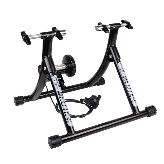 Road Bicycle Exercise Fitness Station MTB Road Bike Roller Trainer ...