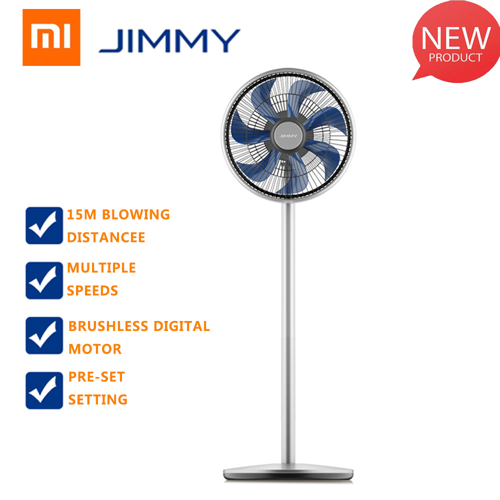 Xiaomi JIMMY JF41 Electric Smart Fan 360 Degree Oscillation 15M Blowing Distance Multiple Wind Modes Pre