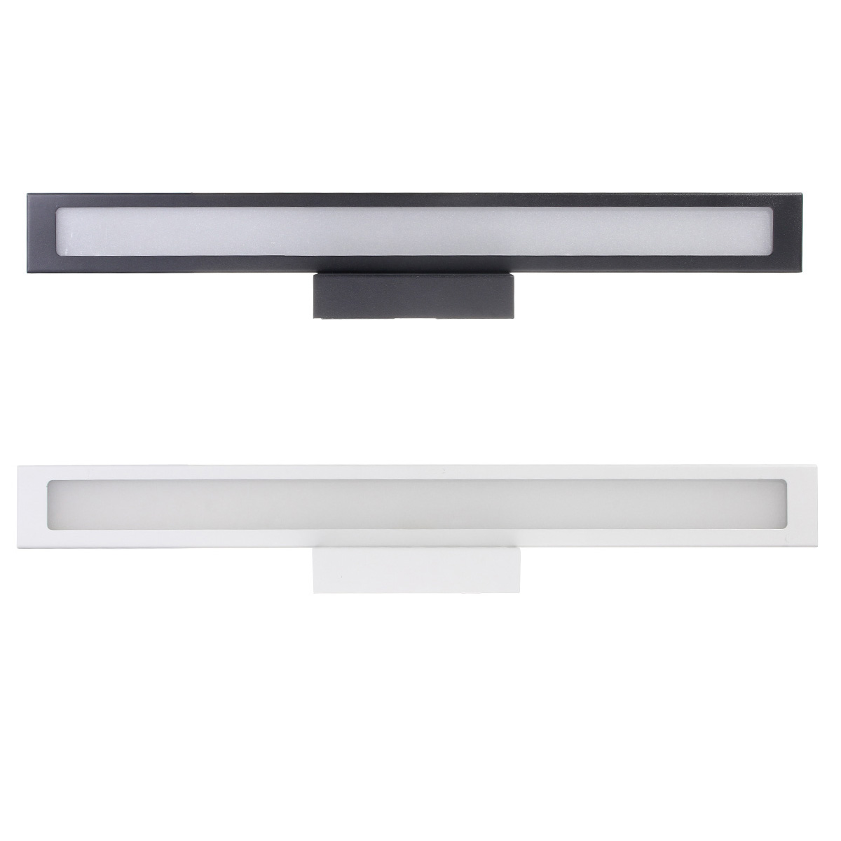 Bathroom Vanity Light Acrylic Led Mirror Front Light Make Up Wall Lamp Fixtures: 55cm 11W 5050 50smd Led Mirror Light Wall Lamp Irror Front Make Up Bathroom Vanity Light Acrylic