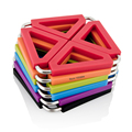 Cocina de sílice almohadilla caliente Coaster salvamanteles calor almohadillas trébedes estera multiusos titular de silicona