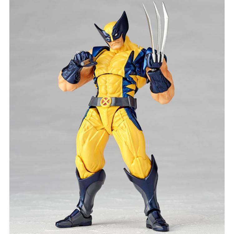 Anime Figure Revoltech Series NO.005 Logan PVC Action Figures Collectible Model Kids Toys Doll 16cm 12pcs set children kids toys gift mini figures toys little pet animal cat dog lps action figures
