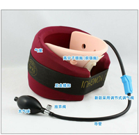 Adjustable Cervical Vertebra Tractor Inflatable Traction Stretching Collar Air Neck Cervical Traction Device Neck Pain Massager