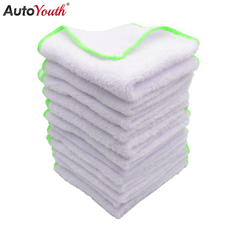 12PCS Super Soft Microfiber Towel Car Washing Cloth for Car Polish&Wax Car Care Car Kitchen Housework Cleaning Drying Towel