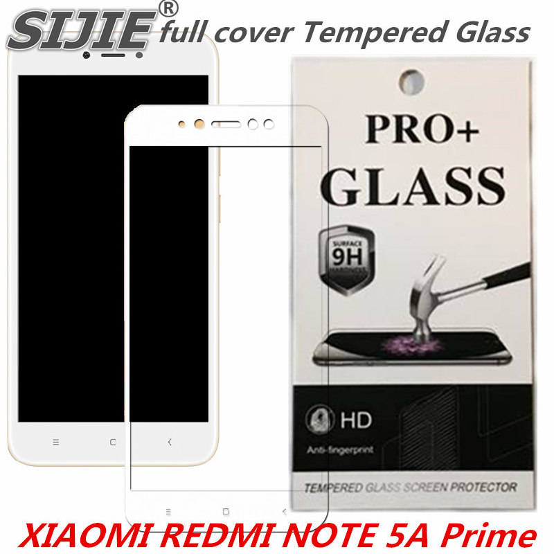 full cover Tempered Glass For XIAOMI REDMI NOTE 5A Global Prime 5.5 inch 3GB 32GB 64GB Screen protective smartphone on toughened