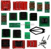 Full Set 21pcs Socket Adapters For Super Mini Pro TL866A EEPROM Programmer By DHL EMS