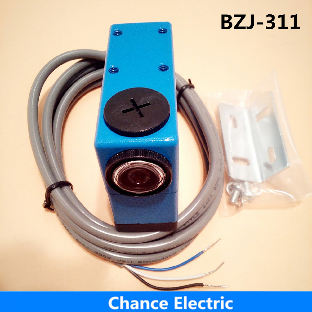 BZJ-311/NT6-N112  Packing Machine photo cell switch color mark Sensors photoelectric (BZJ-311) yg 25 leveling photoelectric sensors