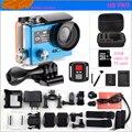 Câmera ação Ambarella H8PRO A12 4 K 30fps/1080 P 120fps Wi-fi controle remoto Dual Screen ir esporte cam h8 pro câmera de vídeo
