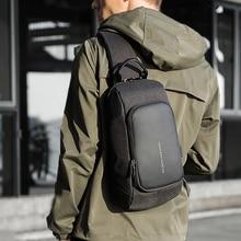 Kaka Luxe Merk Borst Tas Usb Messenger Crossbody Tassen Voor Schouder Sling Bag Waterdichte Korte Reis Mobiele Telefoon Tas
