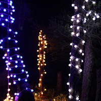 Newest 30M 300 LED Bulbs Cotton Ball String Lights Waterproof Guirlande LED Fairy Garlands Light Holiday
