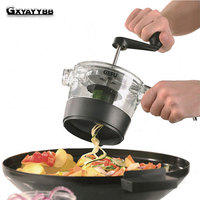 GXYAYYBB Hot/4 In 1 Adjustable Spiral Slicer Grater Fruit Vegetable Cutter Shredder Rotary Cutting Machine Kitchen Accessories