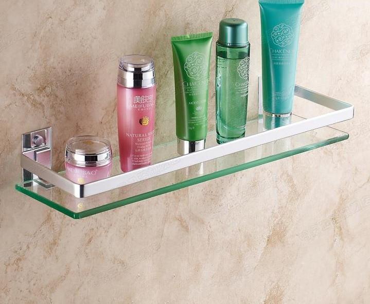 single tier wall toilet bathroom glass shelfchina