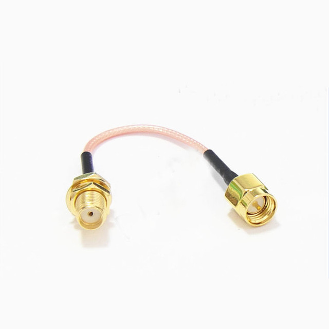 1.2G  1.5G  2.4G 5.8G FPV Transmitter Receiving Antenna Extension Cable Adaption Cable For QAV250 250 FPV Quadcopter