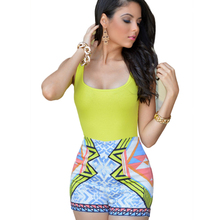 Hot sale Sexy Fashion Popular Summer Shorts Jumpsuit Colorful Print Rompers Beach Spaghetti Strap Backless Jump Suits For Womens
