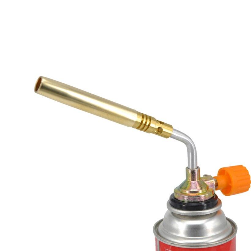 Heating BBQ Full Copper Ignition High Temperature Spray Gun Camping Picnic Fire Lighter Welding Torch Gas Jet Flame Burner Gun fonksiyonlu rende