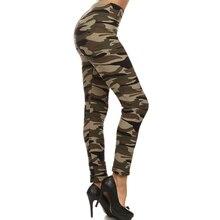 Women Leggings 2016 Spring Autumn Women s Leggings Fitness Women jeggings Camouflage pant font b Leggins